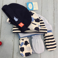 Baby Hat beanies With Gloves
