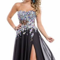 Sweetheart Strapless Gown by Party Time