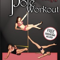 Dr. Amy's Pole Workout! Volume Two For Intermediate and Advanced Pole Dancers! FREE EXERCISE BAND INCLUDED!