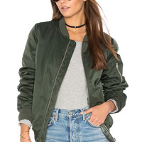 BB Dakota Atwood Jacket in Army Green | REVOLVE