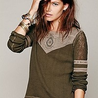 Free People  FP New Romantics Glory Days Thermal at Free People Clothing Boutique