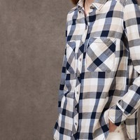 Check print shirt - SHIRTS - WOMAN | Stradivarius Republic of Ireland