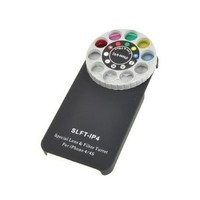 Funny Special Lens and Filter Turret Camera Phone Case for Apple iPhone 4 and 4S
