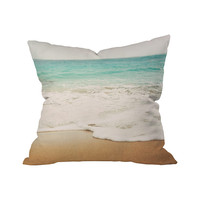 Wave Hello Outdoor Throw Pillow