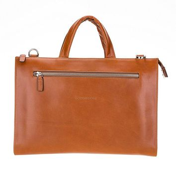 Canzo Leather Laptop Bags   Briefcases