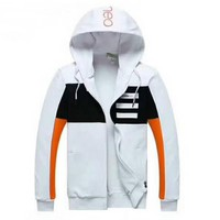 ADIDAS Women Men Unisex Cardigan Jacket Coat White I-A001-MYYD