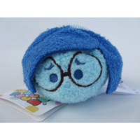 Real Tsum Tsum Inside Out Sadness Mini Plush Toy