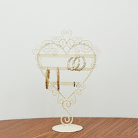 Wire Heart Earring Stand - Urban Outfitters