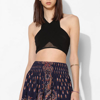 Staring At Stars Smocked-Waist Mini Skirt - Urban Outfitters