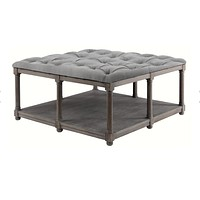 Brownstone Furniture Lorraine Upholstered Coffee Table