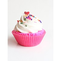 Birthday Cake Butter Cream Cupcake Bath Bomb