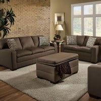 Simmons Upholstery Velocity Living Room Collection
