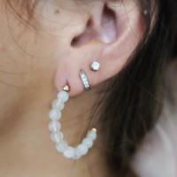 Best Of The Best Earrings: Ivory