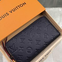 Kuyou Lv Louis Vuitton Gb19710 M62121 Monogram Empreinte Leather Small Leather Goods All Collections Zippy Wallet 19.5x10cm