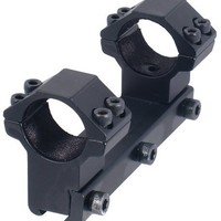 "UTG 1PC High Profile Airgun Mount with Stop Pin, 1"" Dia"