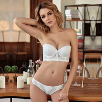 Bra Underwear Sexy Lace Ladies Set [296078016553]
