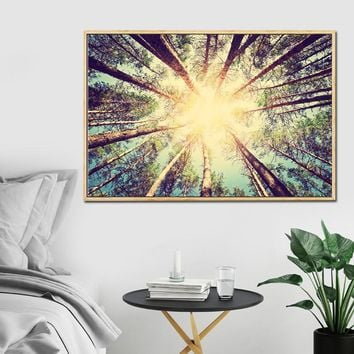 Canvas Painting Trees Landscape Poster Road to the Dream Wall Pictures for Living Room Home Decor Wall Art Cuadros Decoracion