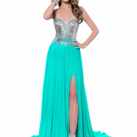 Plunging Sweetheart Prom Gown Terani Couture 1611P0276