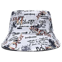 Christian Dior Letter embroidered pattern letters Bucket hat Cap