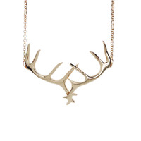 Hunter's Trophy Antler Necklace