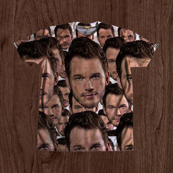 Chris Pratt Print Shirt unisex Youth & Adult size tshirts USA Handmade *Fast Shipping*