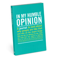 In My Humble Opinion Mini Journal by Knock Knock