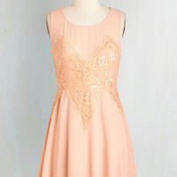 Fairytale Short Length Sleeveless Fit & Flare Kindred Sweethearts Dress by ModCloth