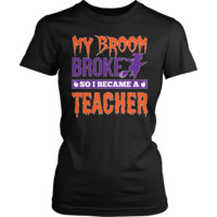 Teacher - My Broom Broke