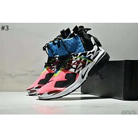 Nike Air Presto Mid x ACRONYM Joint model high-top zipper running shoes #3