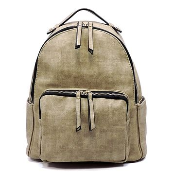 NEW Fashion Backpack Stone Color