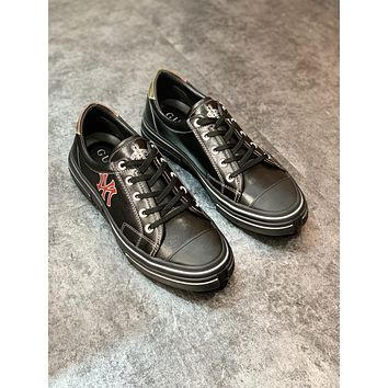 Gucci 2021Men Fashion Boots fashionable Casual leather Breathable Sneakers Running Shoes09110em