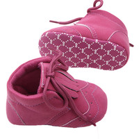 Trendy Infant Newborn Warm Tessal Indoor Baby Shoes Toddler Kids Comfy Shoes 0-12M NW