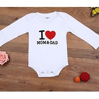 born Baby Romper Long Sleeve Cotton Baby boy girl Rompers Jumpsuit