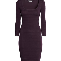 H&M - Dress with Textured Pattern