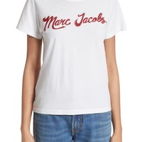 MARC JACOBS Lacquered Logo Tee   Nordstrom