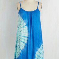 Short Length Sleeveless Shift Who, What, Waikiki Dress by ModCloth
