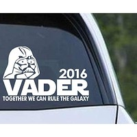 Star Wars - Vader 2016 - Darth Vader for President Die Cut Vinyl Decal Sticker