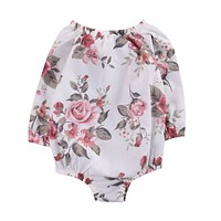 Floral Romper baby clothes