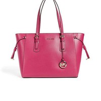 Michael Michael Kors Women's Voyager Tote Ultra Pink One Size
