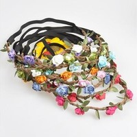 [Sales] Floral Flower Women Girls Hairband Headband Festival Party Wedding Boho Style [7982979399]