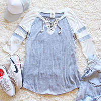 The Lace-up Tee
