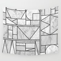 Kaku Stone Wall Tapestry by Fimbis