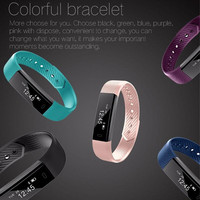 Smart Bracelet Fitness Tracker for iOS Android