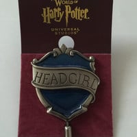 Universal Studios Harry Potter Ravenclaw Head Girl Pin New with Card