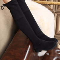 Fashion Women Over the Knee Slim Thigh High Boots a13447