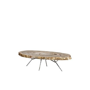 Petrified Wood Coffee Table   Eichholtz Barrymore