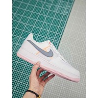 Nike Air Force 1 Low Transparent White Grey