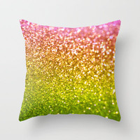 Cosmic Crush Throw Pillow by Lisa Argyropoulos