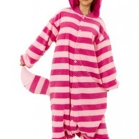 Cheshire Cat Kigurumi - Adult Costume