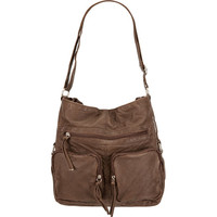 T-Shirt & Jeans Washed Handbag Brown One Size For Women 18113440001